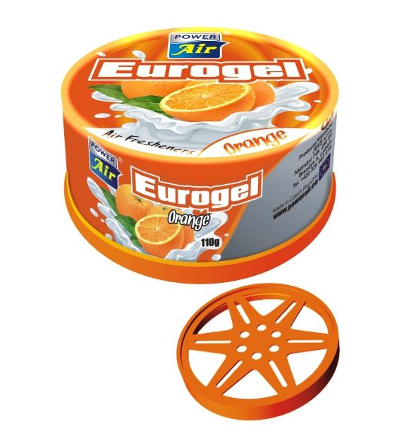 Power Air Eurogel osviežovač vzduchu Orange