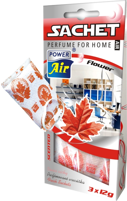 Power Air Sachet voňavé sáčky 3 ks Flower