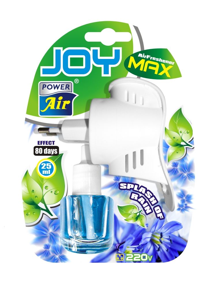 Power Air Joy Max osviežovač vzduchu 25 ml Splash of rain