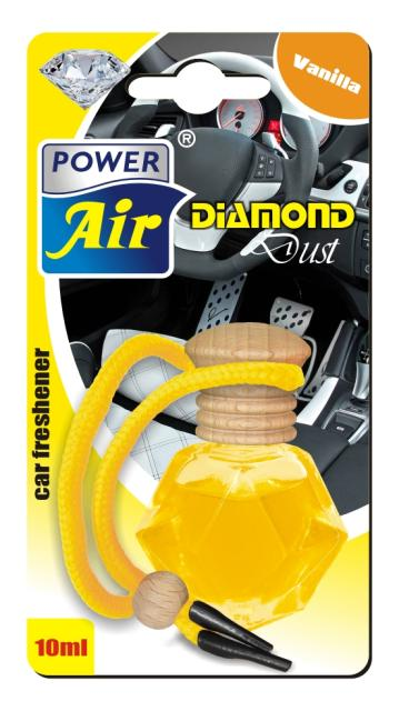 Power Air Diamond Dust osviežovač vzduchu 10 ml Vanilla