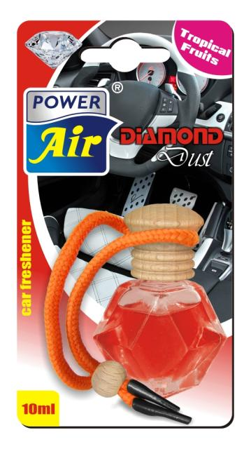 Power Air Diamond Dust osviežovač vzduchu 10 ml Tropical fruits