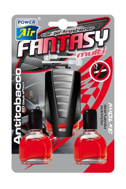 Power Air Fantasy Multi osviežovač vzduchu 3x10 ml Antitobacco