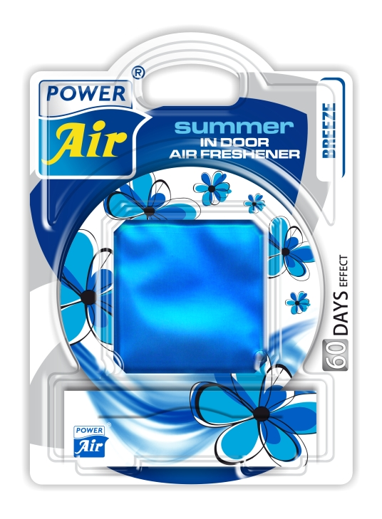 Power Air Summer osviežovač vzduchu 12 ml Breeze