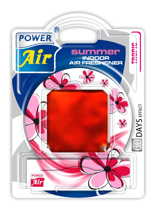 Power Air Summer osviežovač vzduchu 12 ml Tropic