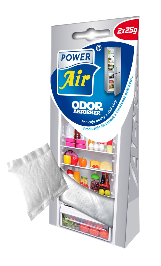 Power Air Odor Absorber pohlcovač pachov v chladničke 2 ks