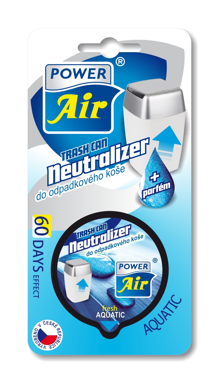 Power Air Neutralizer pohlcovač pachov do koša Aquatic