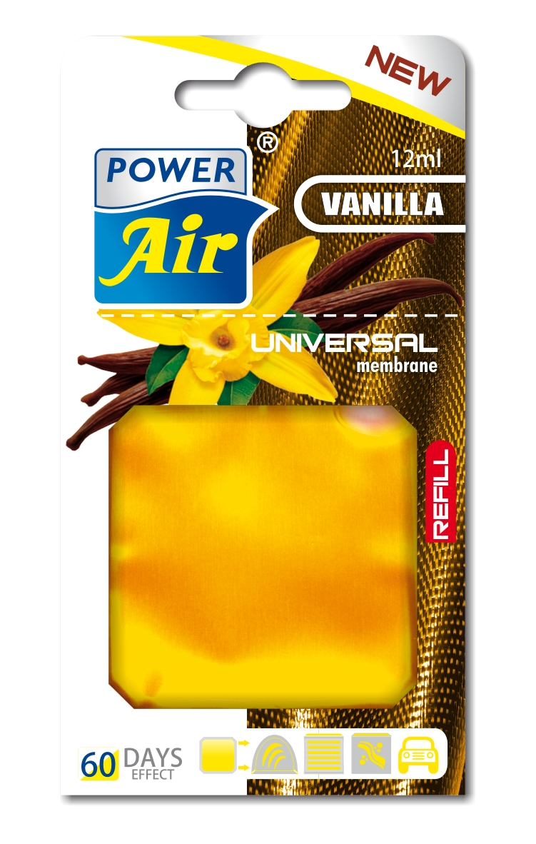 Power Air Universal náplň 12 ml Vanilla