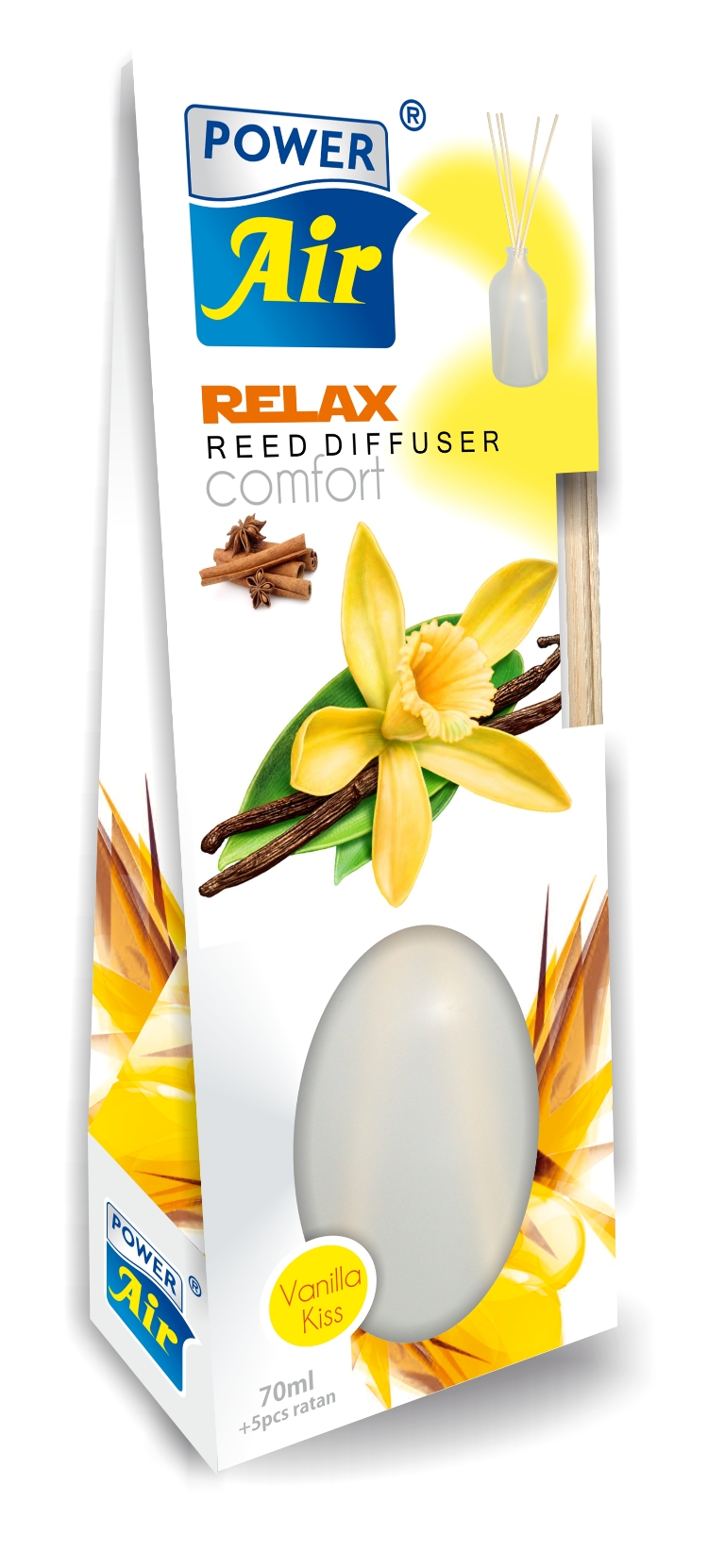 Power Air Relax diffuser 70 ml Vanilla Kiss