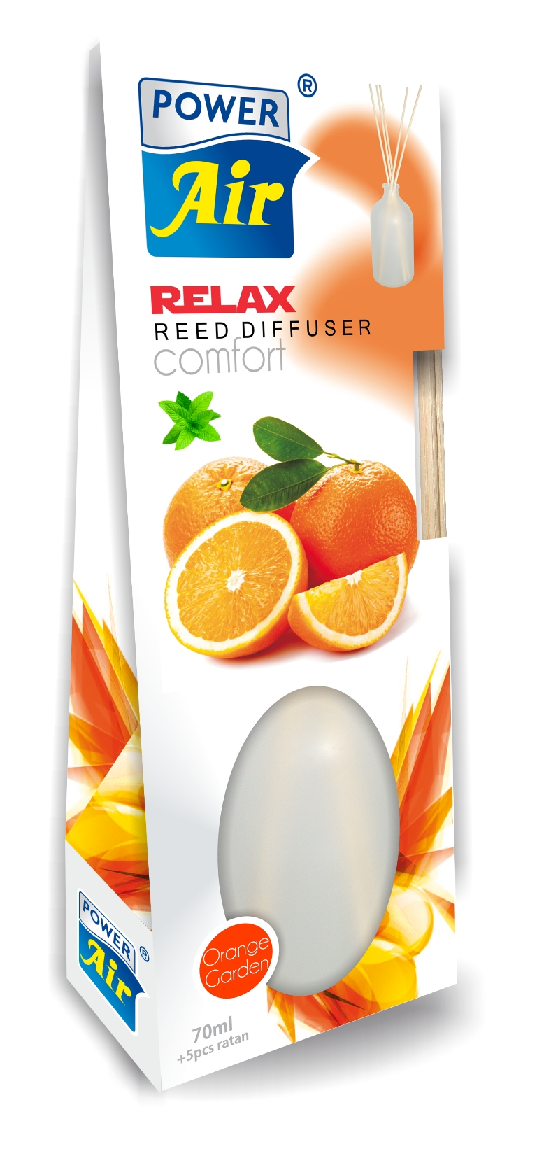 Power Air Relax diffuser 70 ml Orange Garden