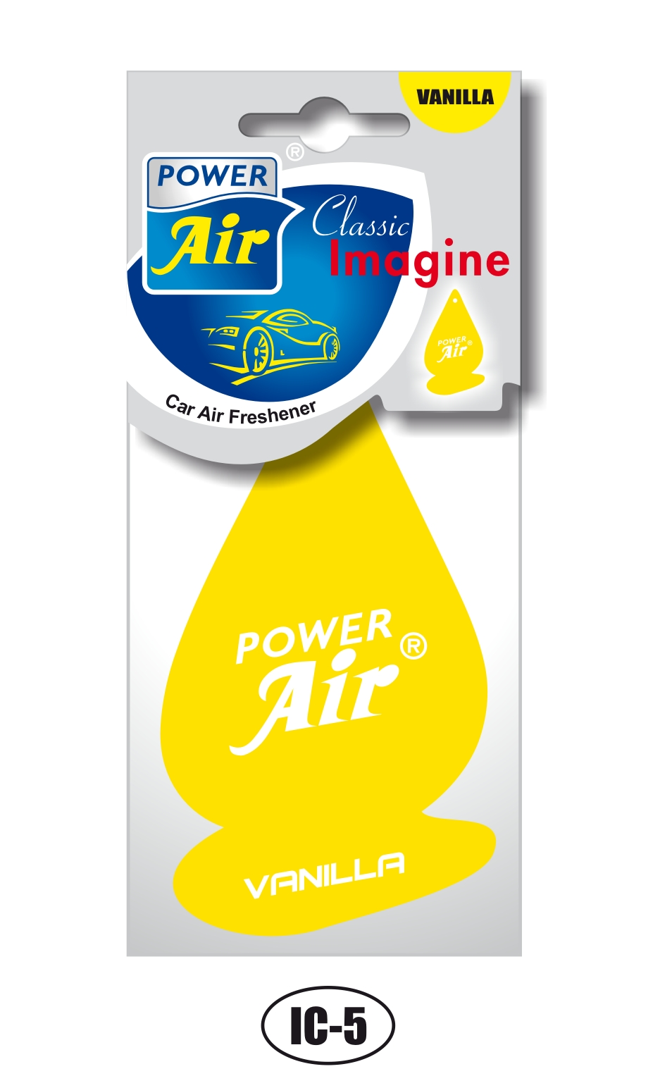 Power Air Imagine Clasic osviežovač vzduchu Vanilla