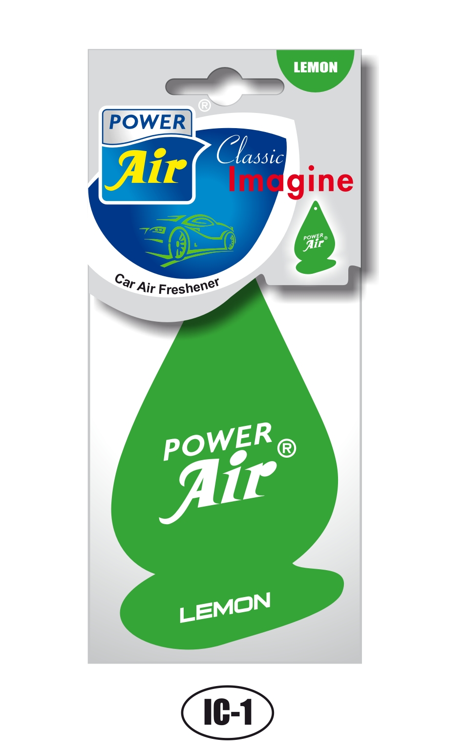 Power Air Imagine Clasic osviežovač vzduchu Lemon