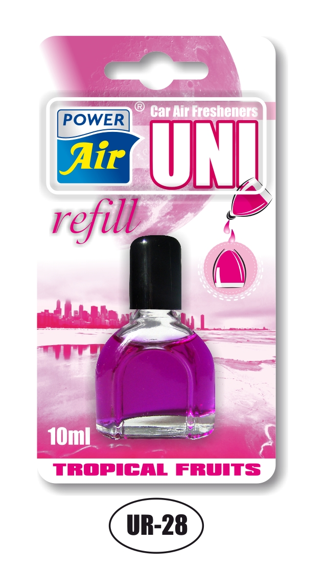 Power Air UNI refill náhradná náplň 10 ml Tropical fruits