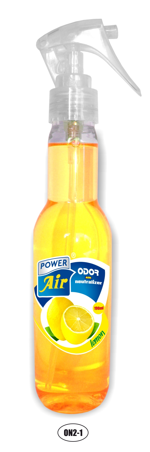 Power Air Odor Neutralizátor zápachu 190 ml Lemon